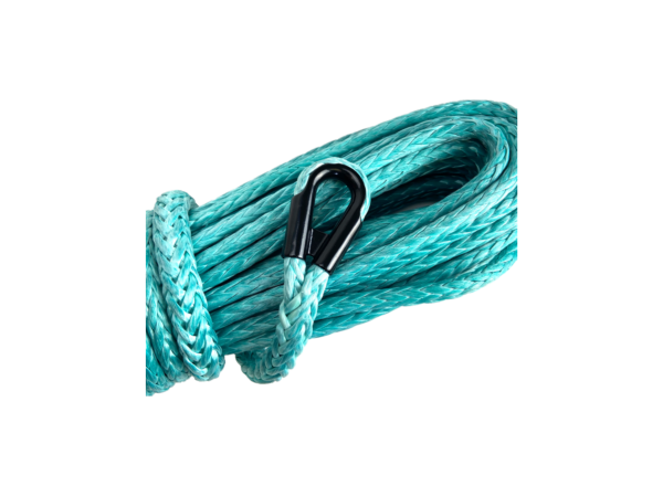 Teal Winch Rope