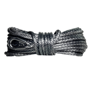 "7/16"" Synthetic Winch Rope - 26,000 lb. Breaking Strength - Replacement Winch Rope for 10,000 lb. to 15,000 lb. Winches"