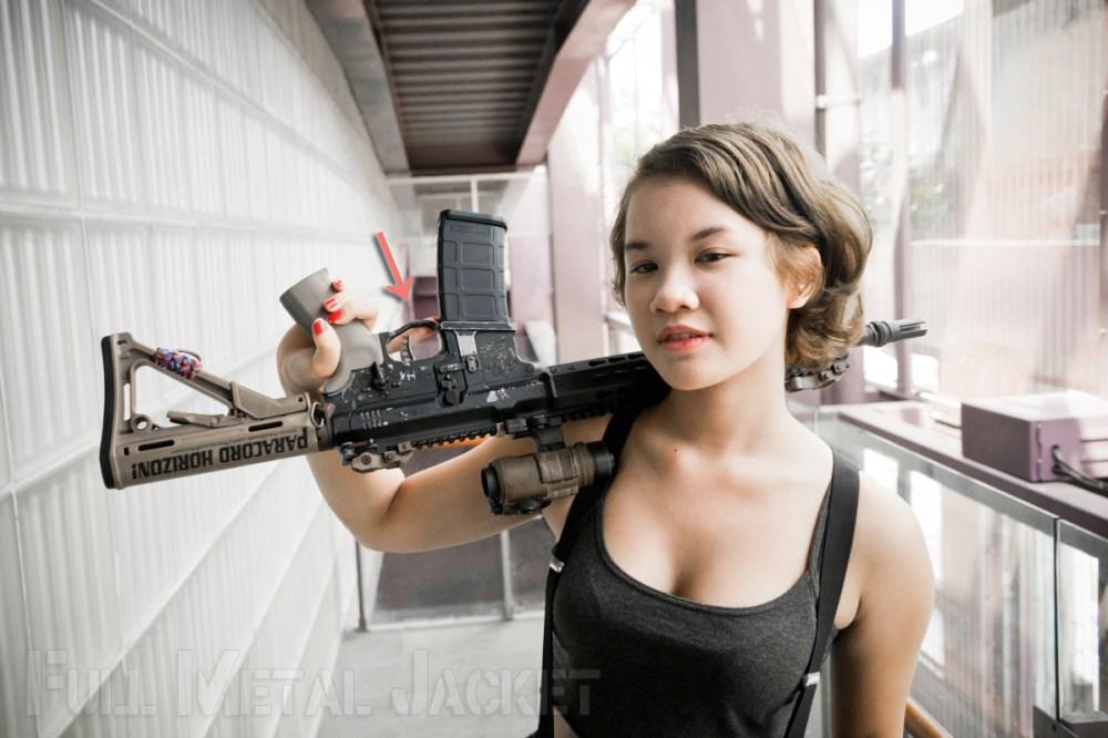 攝影用持槍教學文2.04 – 常見的槍械拍攝問題   Full Metal Jacket!