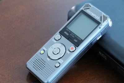 voice recorder - public speaking