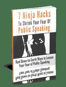 ninja hacks overcome fear of public speaking tactical talks