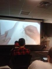James Baxter demonstrating animating