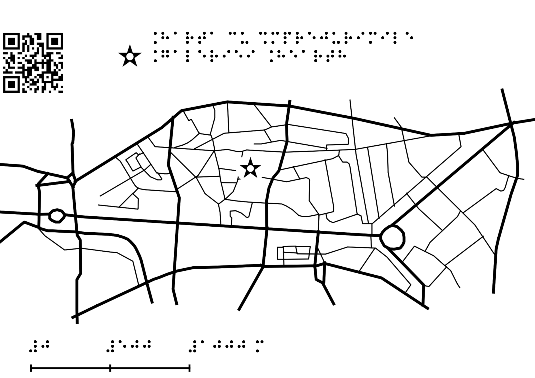 map with surroundings of hearth gallery