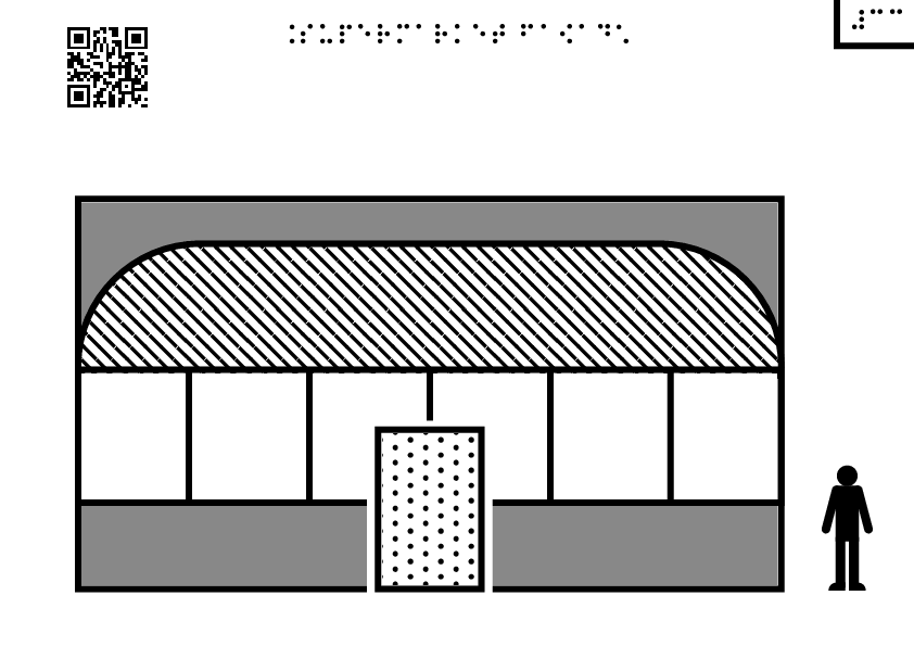 Supermarket facade