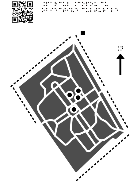 Harta Parcului Copou din Iași cu obiective culturale