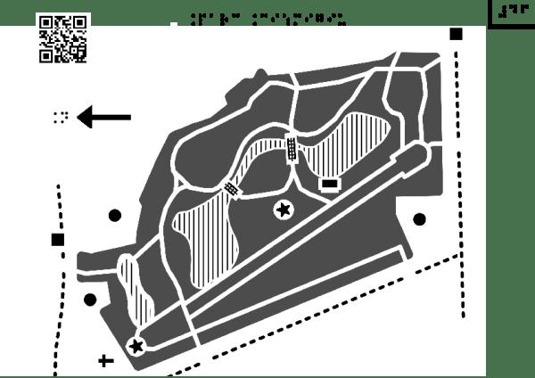 Harta Grădinii Cișmigiu