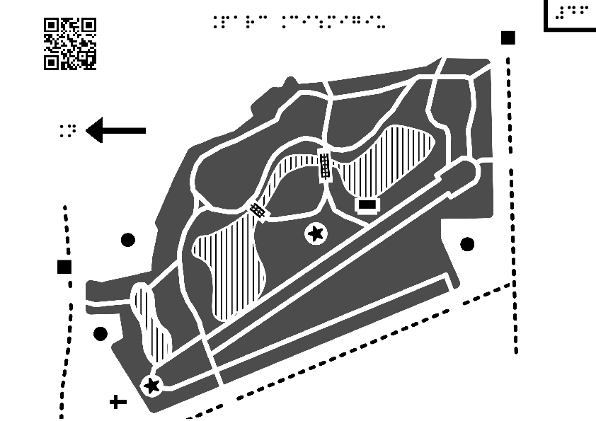 map of the cismigiu gardens
