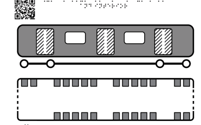 Vagon Metrou plan si lateral