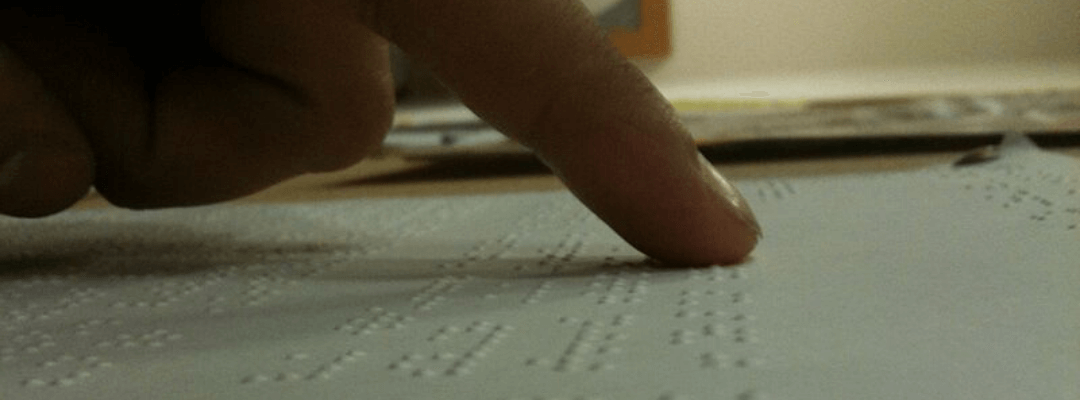 Modern Technologies Facilitate the Independent Study of the Braille Alphabet