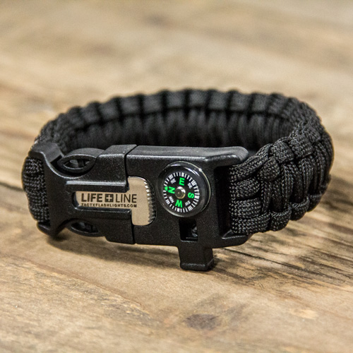 TX-LIFELINE100 - Life Line Survival Wrist Band for outdoor enthusiasts