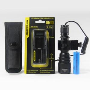 ELITE-UM10 Tactical Flashlight Kit