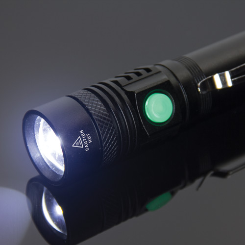 KYBER 550 compact tactical flashlight offers quality, value and portability