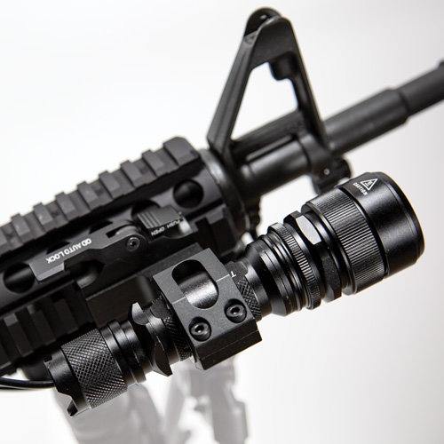 LM900 ELITE AR-SPEC Tactical Flashlight Kit with USB Charger and Military Rifle Mount