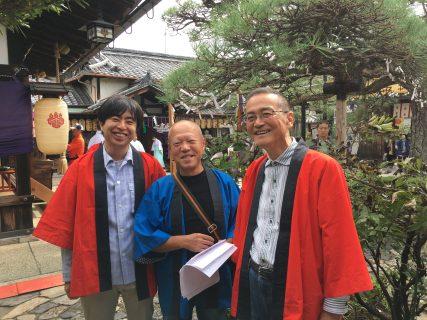 ならまちの氏神神社御霊神社秋季大祭が10月13日に行われました