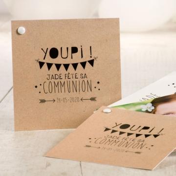 invitation communion originale