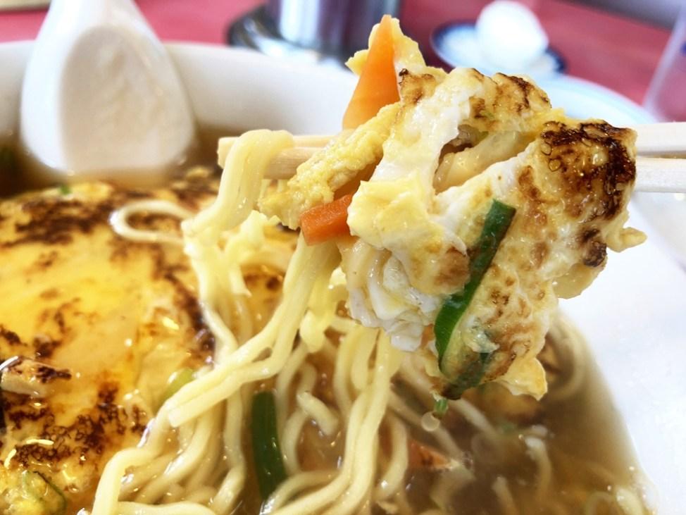 中華料理 大元「天津麵」玉子