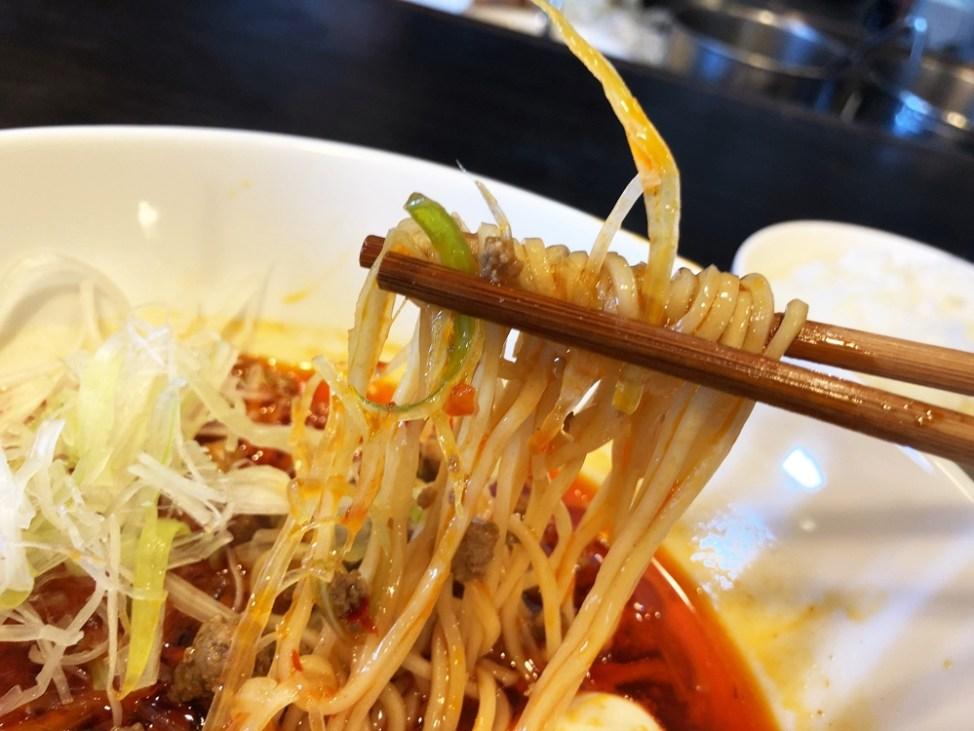 Soul Noodles THE R&R「篠ヶ瀬タンタンソバ」麺
