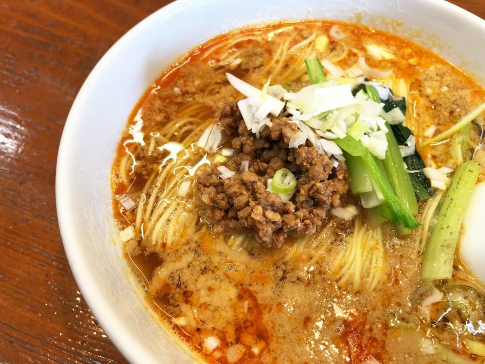 中国料理 玄武「担々麺」