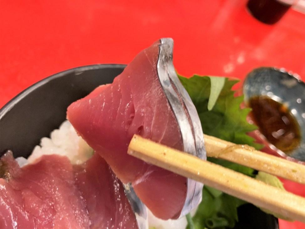 汁なし担々麺っぽい専門店 ラボラトリー「2種丼」鰹