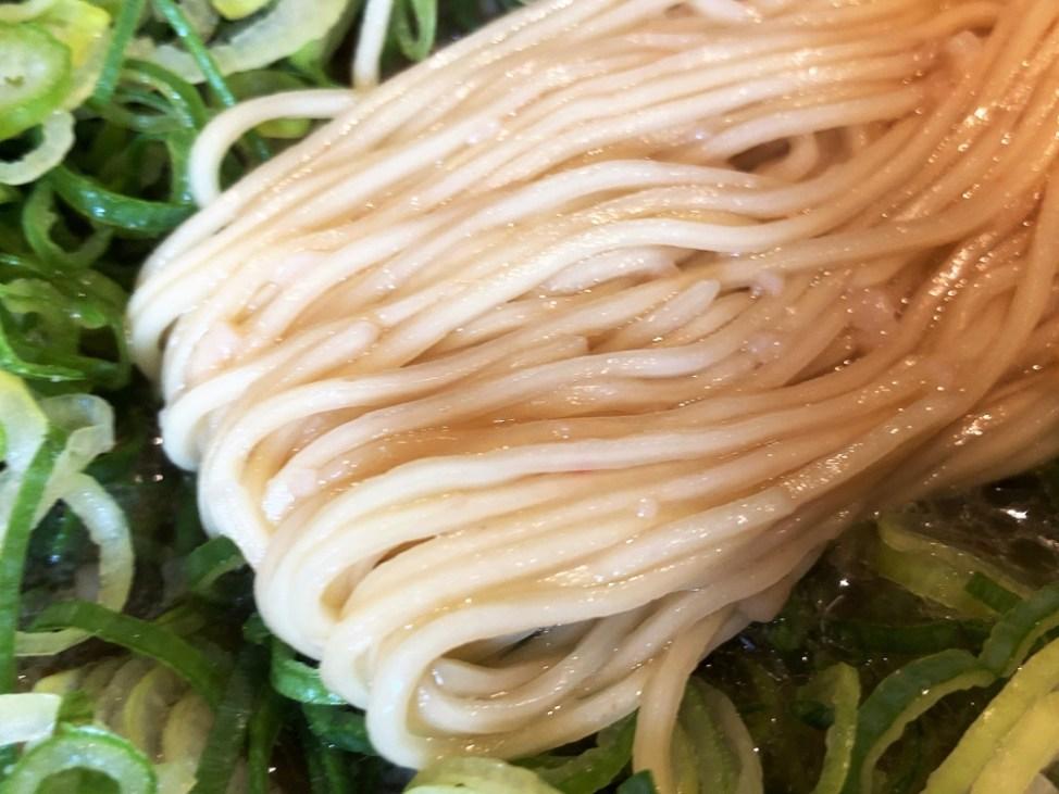 来来亭 志都呂店「天津飯定食」麺