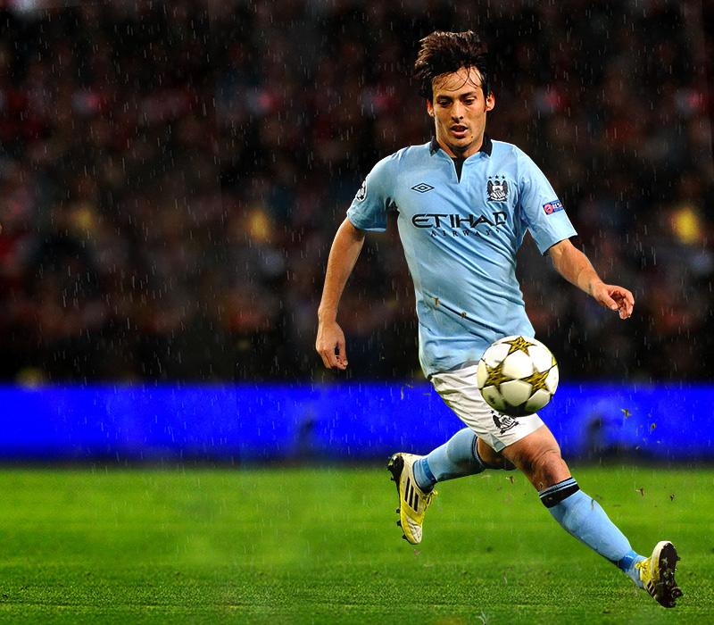 Silva at Manchester