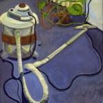 1980 02 01 Staubsauger Öl auf Leinwand 117x100 cm