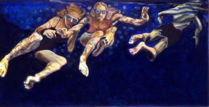 2003 13 01 Cala Minora III Acryl auf Leinwand 109x210 cm