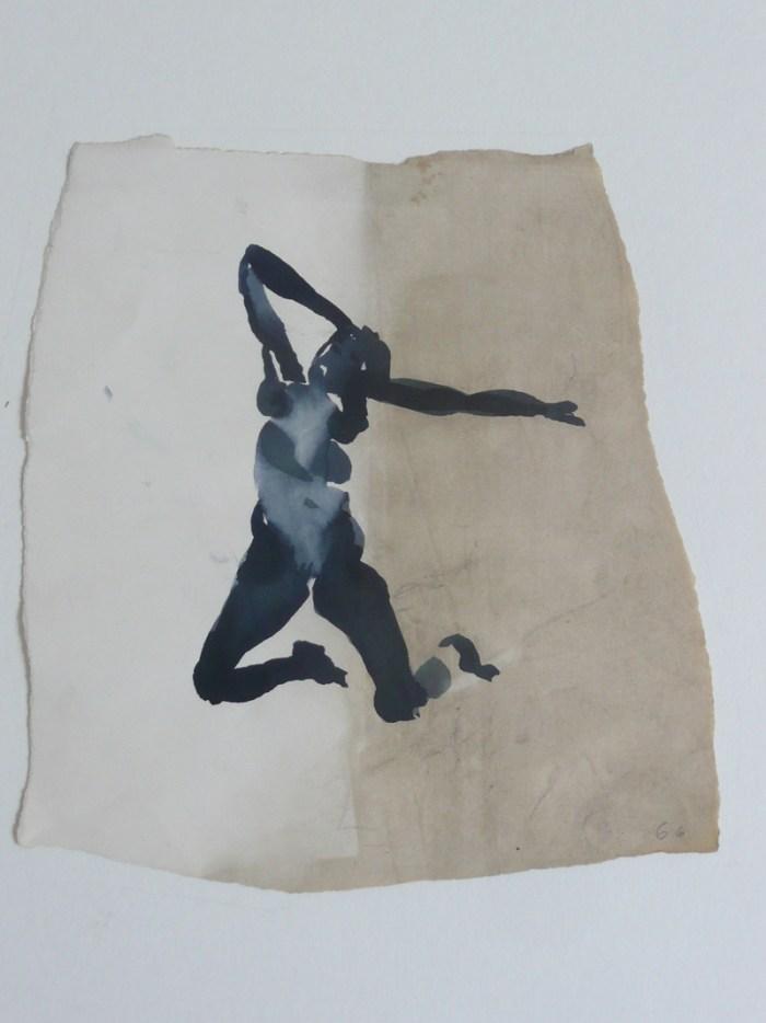 1966 02 02 o.T. Tusche auf Papier 19x139 2