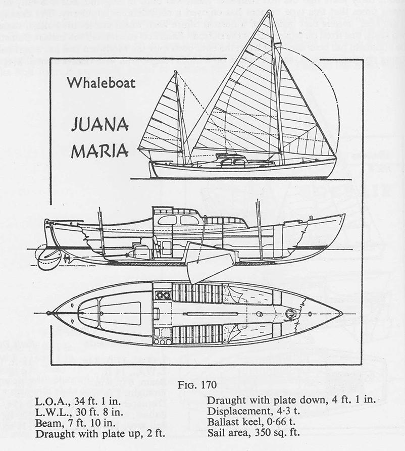 whaleboat refit to coastal cruising