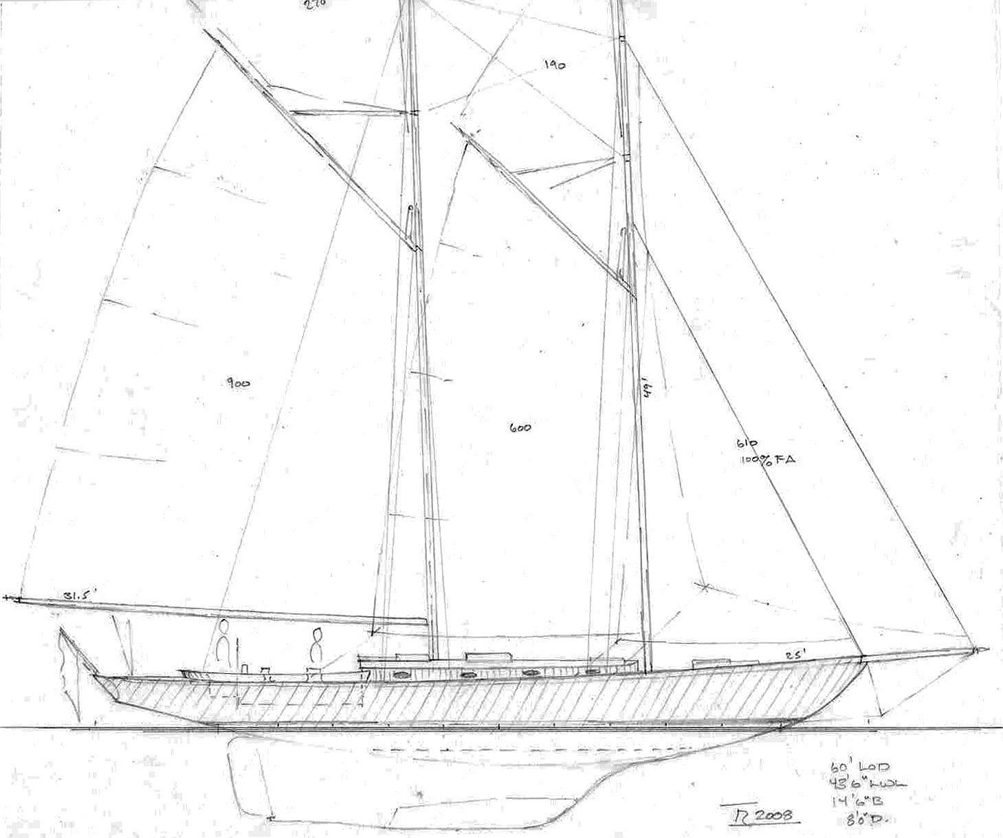 Sail Boat Designs Over 30 Tad Roberts Yacht Design