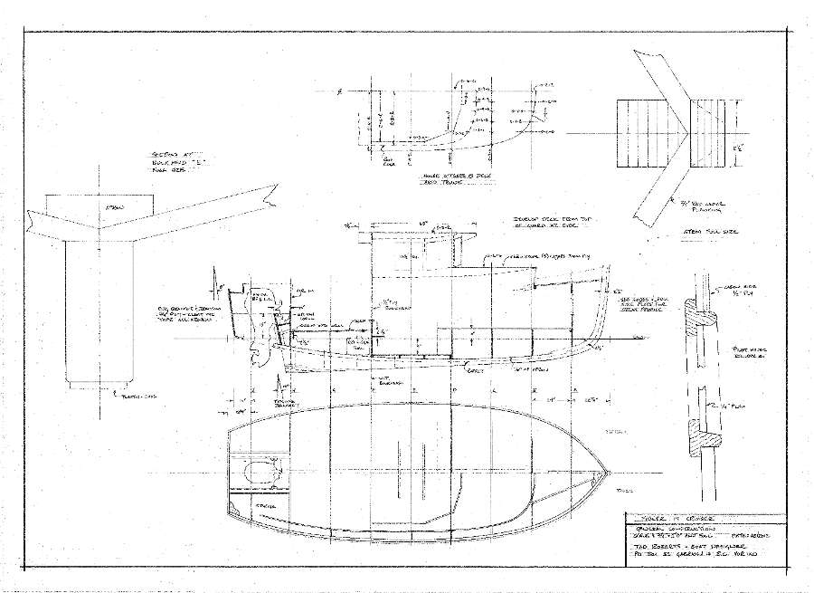 Fidler 19, Displacement cruiser based on BC gillnetters of