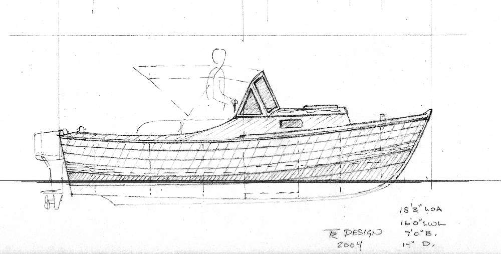Planing and Semi-displacement Power Boats Under 29'~ Tad