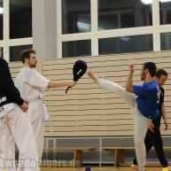 Anbei ein paar Einblicke in unser Taekwondo und Kampfsport Training un Sparring in Berlin Wedding