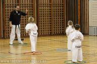 Erstes Training der Kindergruppe der Taekwondo Tigers Berlin
