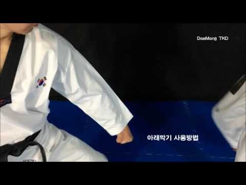 Poomsae application for attacking & counter attacking