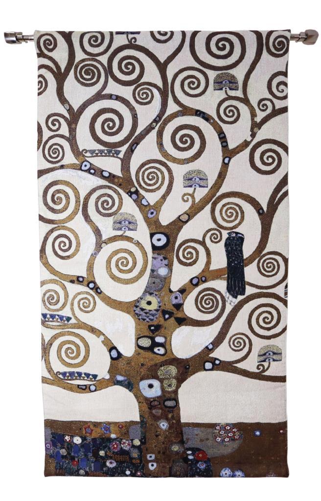 Gustav Klimt Arbre De Vie : gustav, klimt, arbre, Wandkleed, 138cm, Gustav, Klimt, Tafelkleedjes.nl