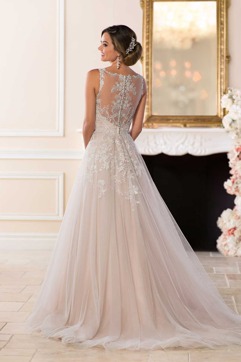 Stella York 6436  Affordable Romantic Wedding Dress