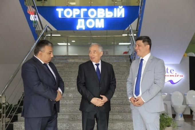 бекистан» В Душанбе открылся Торговый Дом «Таджикистан и Узбекистан»