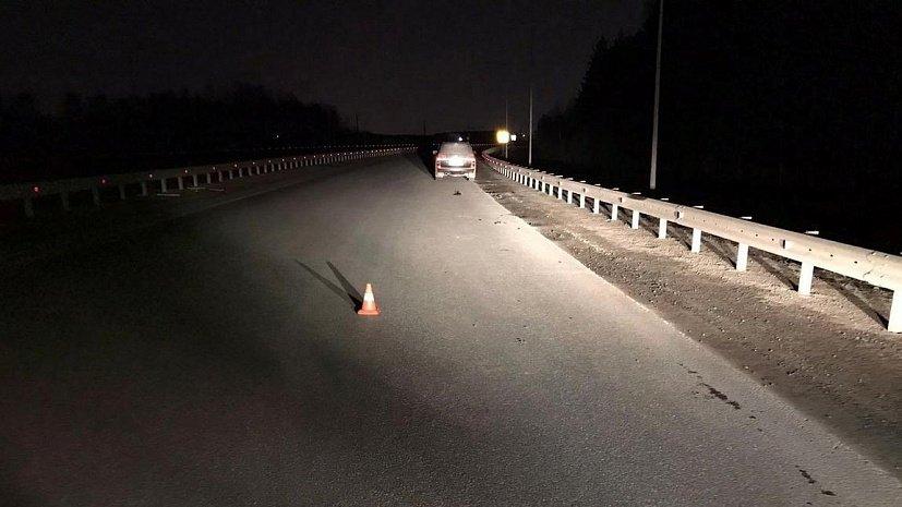Водитель наехал на пешехода и инспекторов ДПС, сбегая от погони