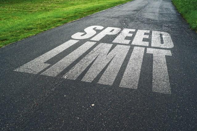 Safety first - think speed limit