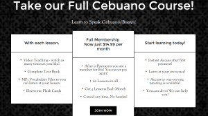 Full Cebuano Course