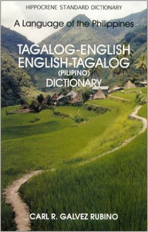 Tagalog-English/English-Tagalog dictionary