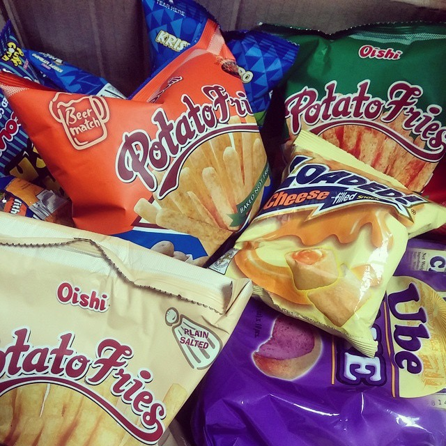 Chichirya: Oishi Beer Match Potato Fries ++