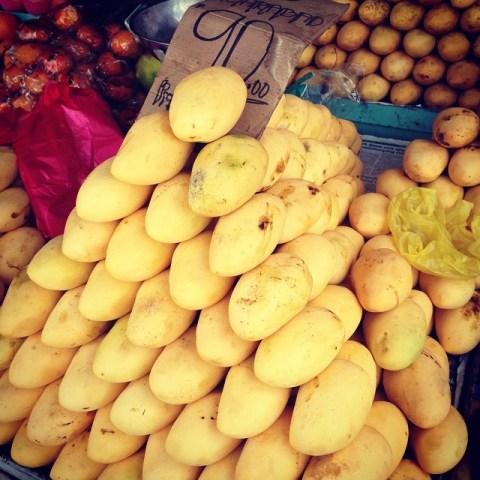 Ripe Carabao Mangoes