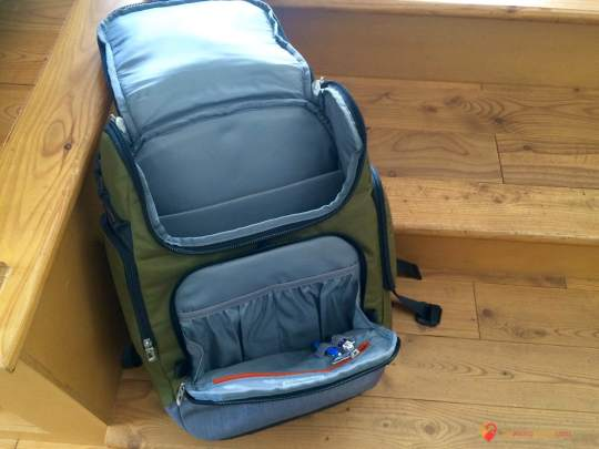Interior of the BRX Excursion Backpack