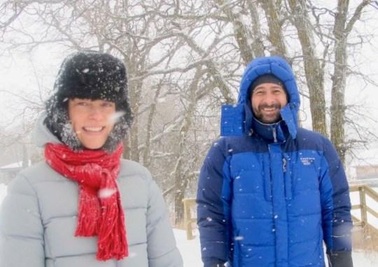 Deb & Steve at Lake of the Woods Ontario