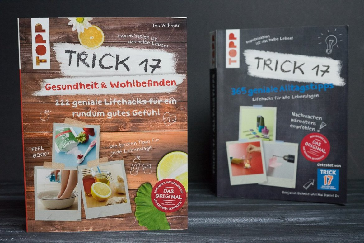 Bücher Trick 17 Life Hacks Alltags Hacks