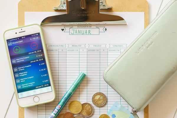 überblick Haushaltsbudget