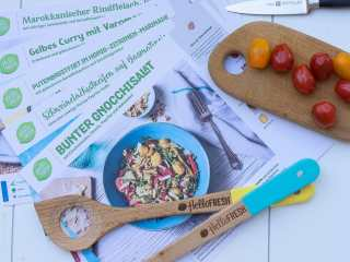 Menüplan, Essensplan HelloFresh Box
