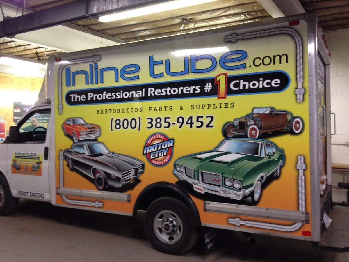 Vinyl Graphics | TAG Tintz & Graphx | Fraser, Michigan